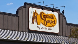Indianapolis, US - June 24, 2016: Cracker Barrel Old Country Store Location. Cracker Barrel Serves Homestyle Food IV