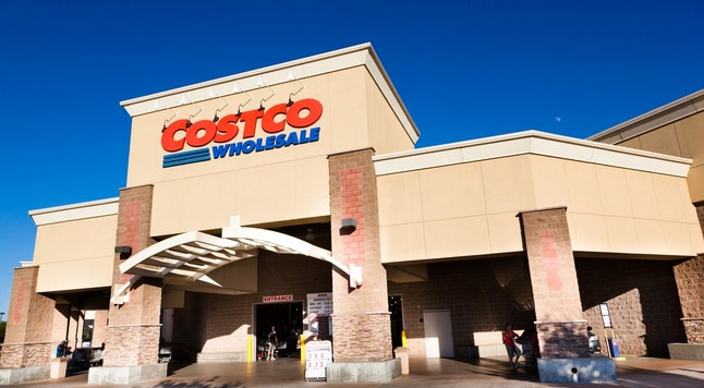 Citrus Heights, California, USA - Jun 29, 2012: Costco Wholesale storefront in Citrus Heights, California. Costco is known for discounted prices on its merchandise. Costco Wholesale operates an international chain of membership warehouses, carrying brand name merchandise at substantially lower prices.
