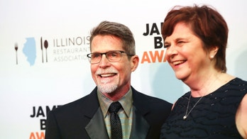 Rick Bayless and his wife Deann arrive at the James Beard Awards on Monday, May 1, 2017, in Chicago. (Brian Cassella/Chicago Tribune via AP)