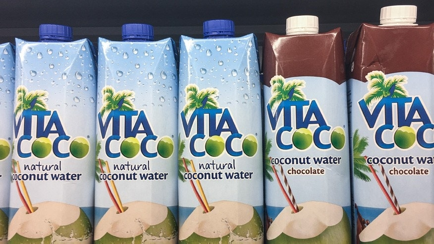 A woman in New York claims to have found a gross mass at the bottom of her Vita Coco.