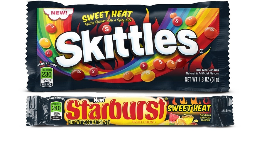 Starburst and Skittles' newest flavors are spicy and sweet