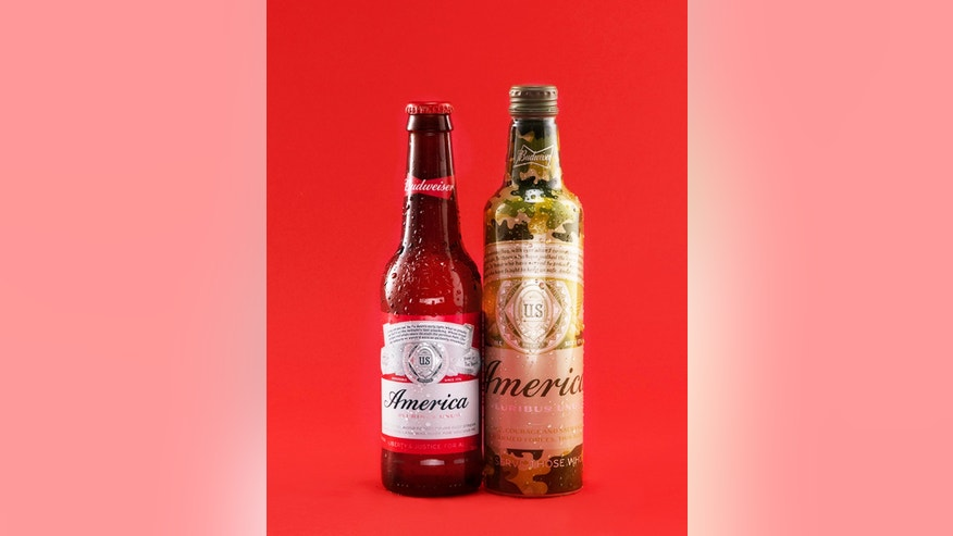 Budweiser's America cans and bottles are back with a twist to support the country's Armed Forces.
