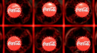 coca cola coke bottles reuters