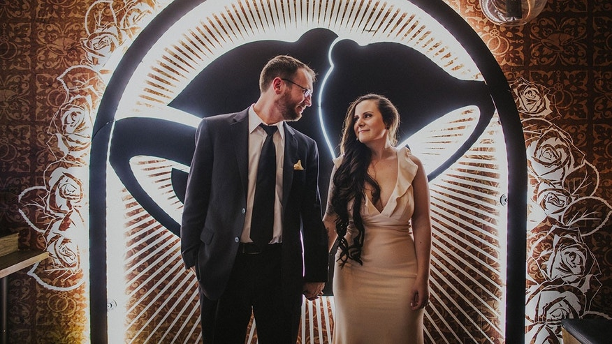 On Sunday Dan Ryckert And Bianca Monda Became The First Couple To Marry At