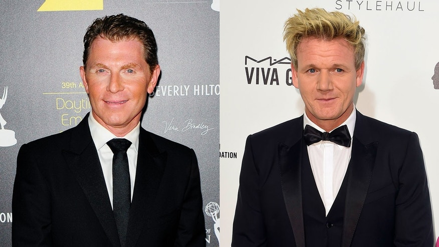 Bobby flay wants to face gordon ramsay in a pay per view cook off flay has expressed interest in throwing down against m4hsunfo