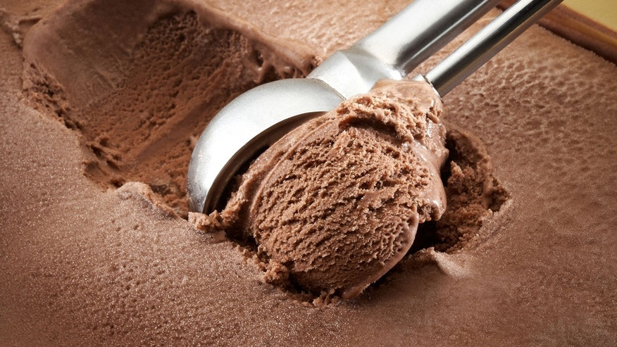 The catheter was found in a container of Coaticook's chocolate-pecan ice cream.