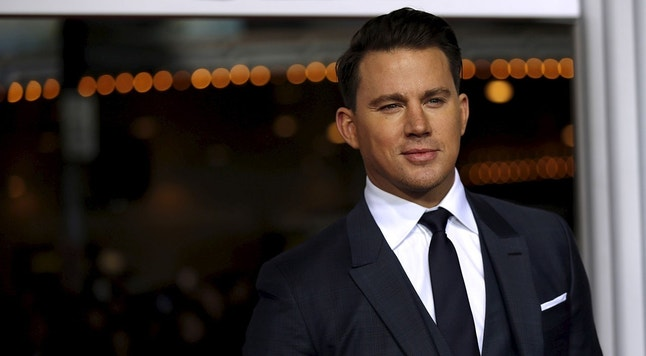 "Cast member Channing Tatum poses at the premiere of ""Hail, Caesar!"" in Los Angeles, California February 1, 2016. The movie opens in the U.S. on February 5.   REUTERS/Mario Anzuoni - RTX25111"
