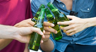 beer bottle green istock