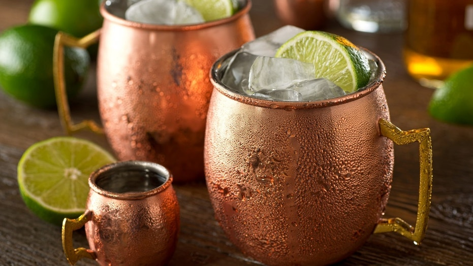 The Iconic Moscow Mule Copper Mug May Be Poisoning