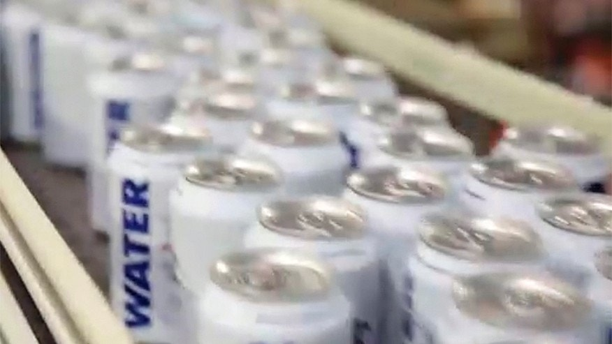 Anheuser-Busch canning water - instead of beer - for Harvey victims