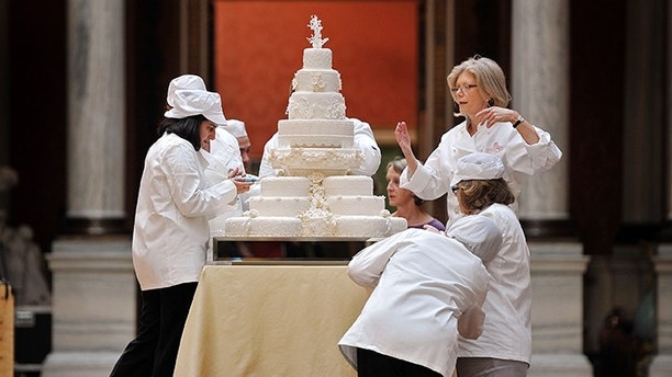 Prince William And Kate Middletons Royal Wedding Cake To Go Up