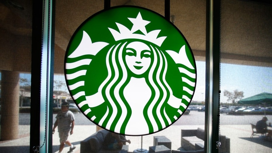 The company behind Simon malls isn't too happy with Starbucks.
