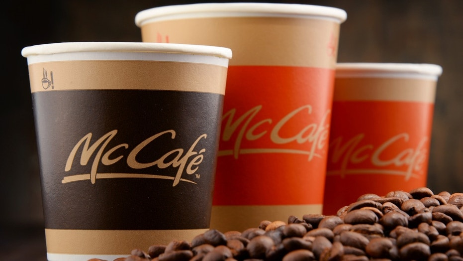 McDonald's plans launch for line of bottled coffee.