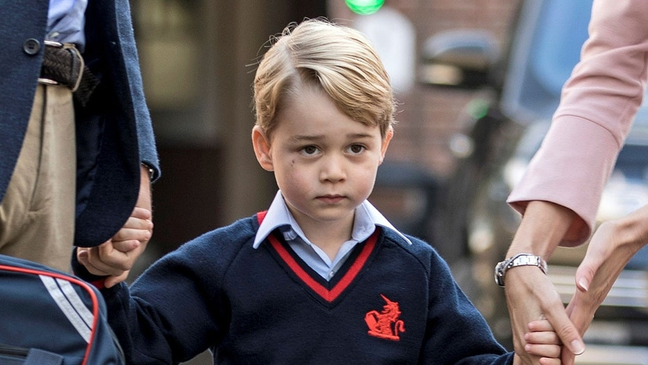 Prince George will have the option to feast on lamb ragout and Portuguese egg tarts.