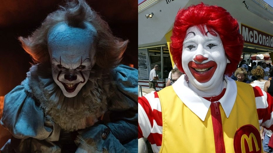 Burger King Russia thinks Pennywise from 'It' looks a bit too much like Ronald McDonald.