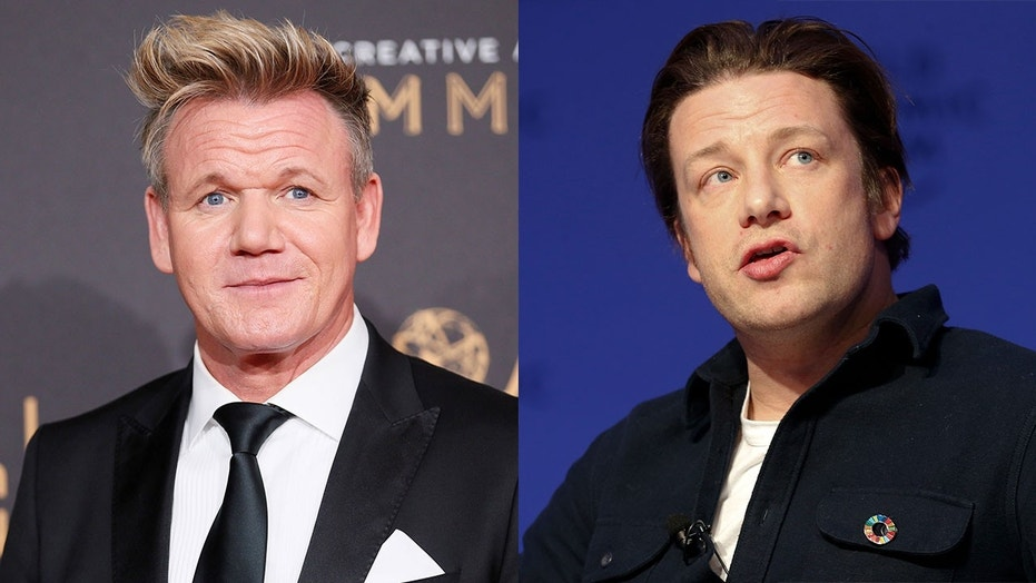 gordon ramsay blasts jamie oliver over comment about his family
