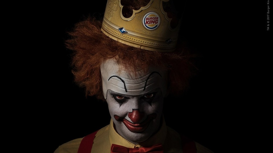 Burger King takes jab at McDonald's with 'Scary Clown Night'