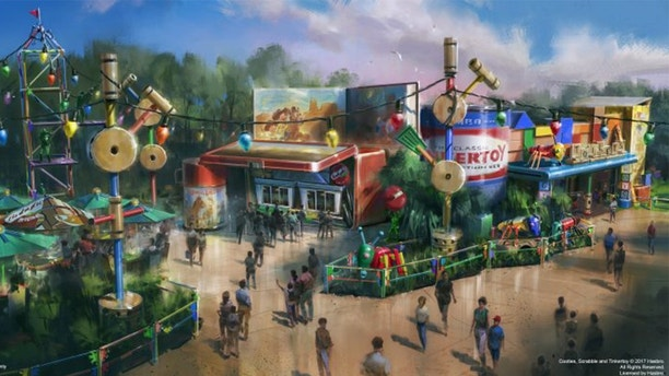 disney world toy story