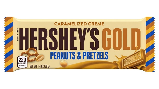 Hershey's Gold: Candy company offers first new bar variety since 1995