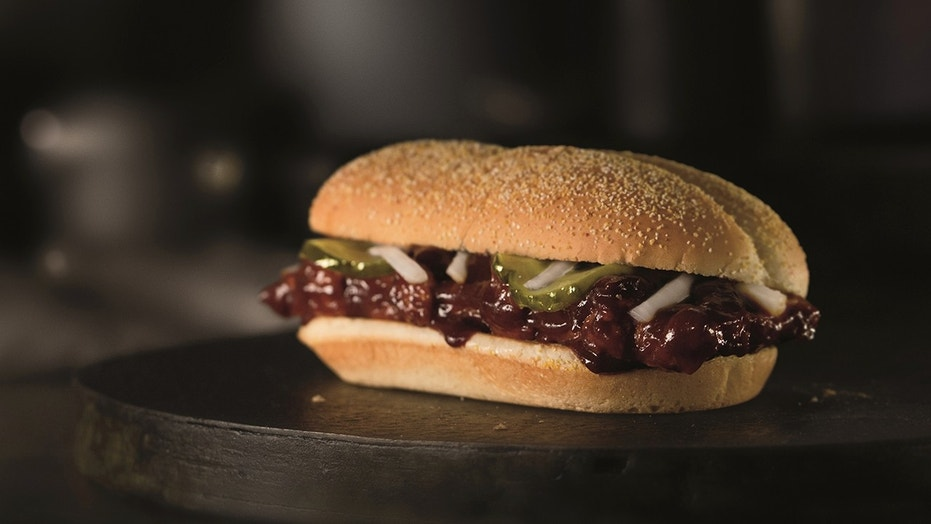 The McRib is Back at McDonald's