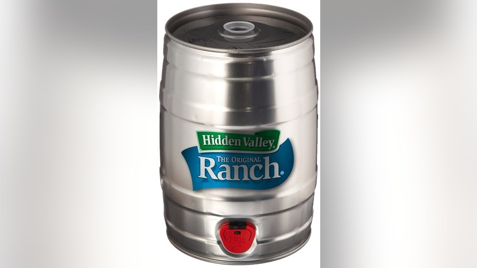 Hidden Valley mini ranch keg is being sold at $50.