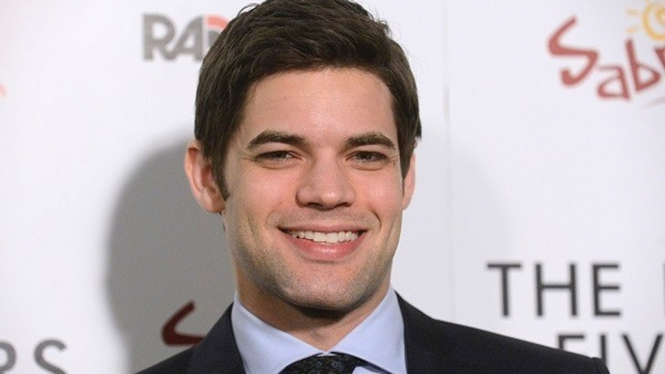 """Supergirl"" Jeremy Jordan said he was hospitalized after eating Chipotle."
