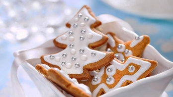 silver dragee cookies istock