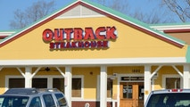 Rochester Hills, Michigan, USA - January 10, 2012: The Outback Steakhouse in Rochester Hills, Michigan. Outback Steakhouse is a casual dining chain of restaurants with over 1200 locations in 22 countries.
