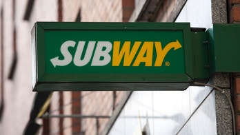 """Dublin, Ireland - March 17, 2012: Subway(Fast Food Sandwich Franchise) sandwich shop franchise located in Dublin, City Centre."""