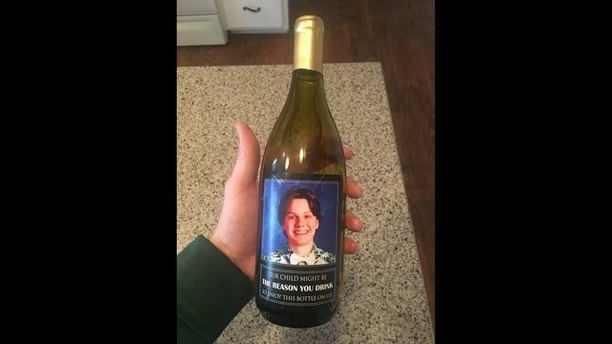 wine bottle 3 fox 13