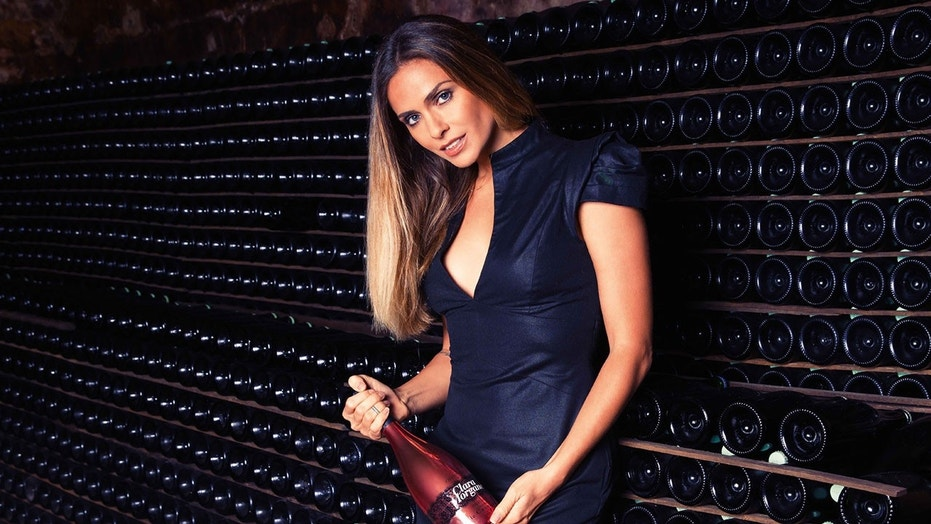 Clara Morgane, a television host, singer, and former adult actress, has partnered with Charles de Cazanove to create a sparking rosé.