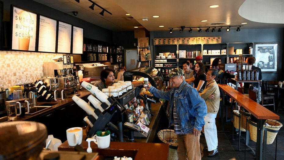 "Starbucks is testing out a new cash-free model at one of their Seattle stores to see how ""cashless forms of payment may impact customer experience."""