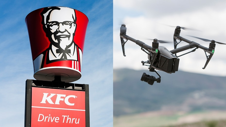 KFC India releases a drone called Kentucky Flying Object (KFO)