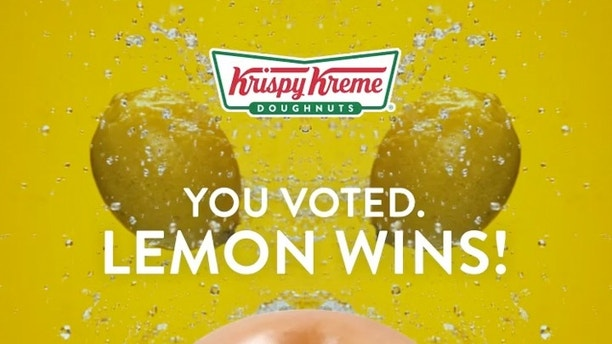 The votes are in for Krispy Kreme's newest glaze flavor