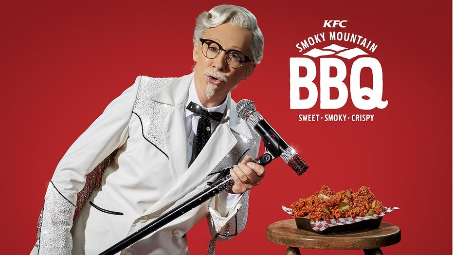 Reba McEntire becomes KFC's first female Colonel Sanders
