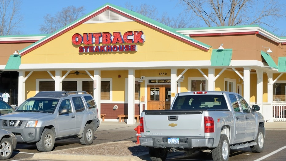 A uniformed and armed officer was asked to leave Outback Steakhouse by a manager because his weapon allegedly scared another patron.