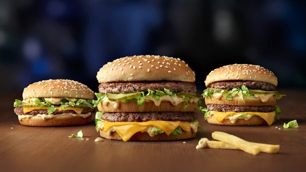 McDonald's has launched its limited edition supersize Big Macs