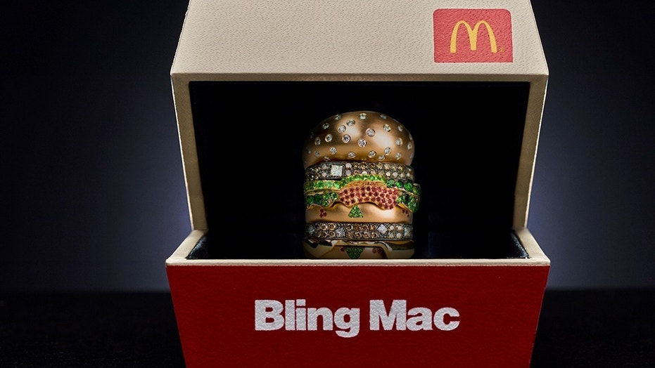 Profess your Big Mac love for a chance to win #BlingMacContest ring