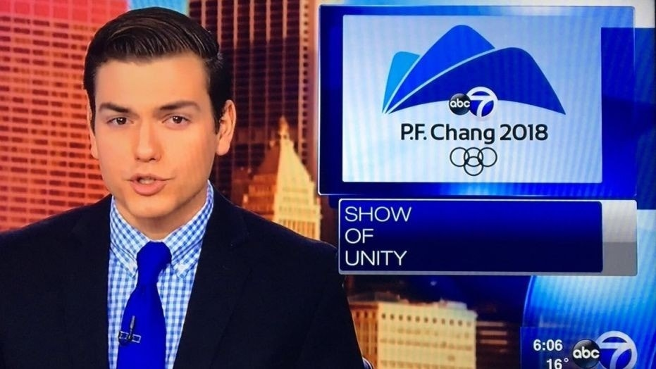 A Chicago ABC affiliate displayed the wrong graphic during its coverage of the Olympics, and P.F. Chang's has been having fun with it ever since.