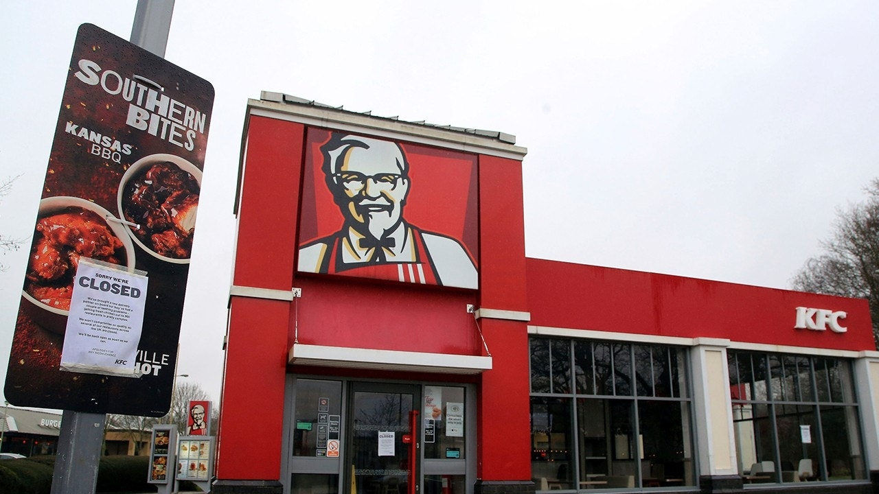 KFC forced to close because it ran out of chicken