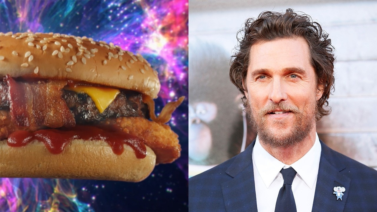 Matthew McConaughey is now doing Carl's Jr. commercials