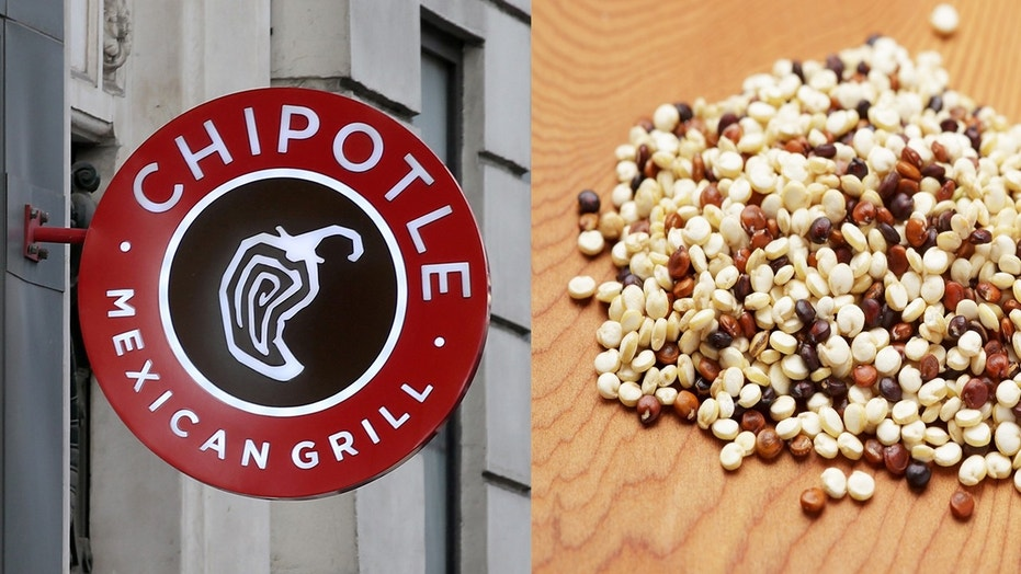 Chipotle is testing lime-cilantro quinoa on its New York City menu as an alternative to rice.
