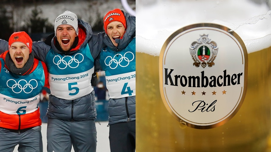 The doctor for Germany's skiing team said nearly all of his competitors drink non-alcoholic beer after a training session.