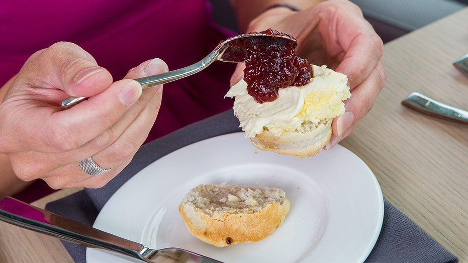 A Mother's Day ad featuring scones with jam on top of cream sparked outrage in the U.K.