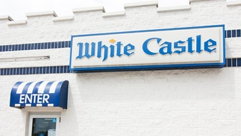 Des Plaines, IL, USA - August, 6, 2011: Side entry of White Castle Restaurant, home of a small, square hamburger called the Slider.  White Castle is second only to McDonald\'s in sales revenue per store.