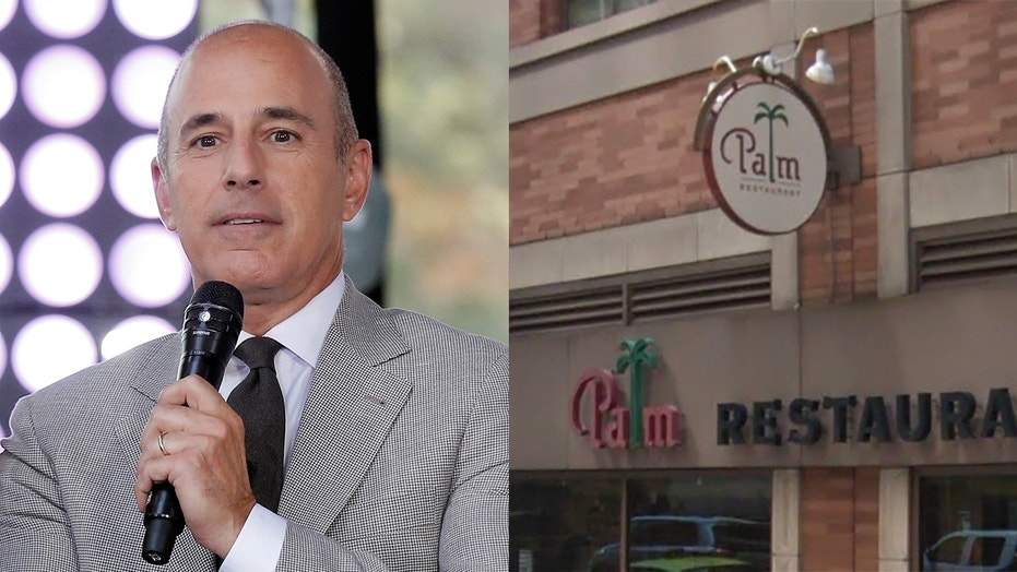 The iconic restaurant, which plasters its walls with caricatures of its regular guests, had quietly removed Lauer's last month.