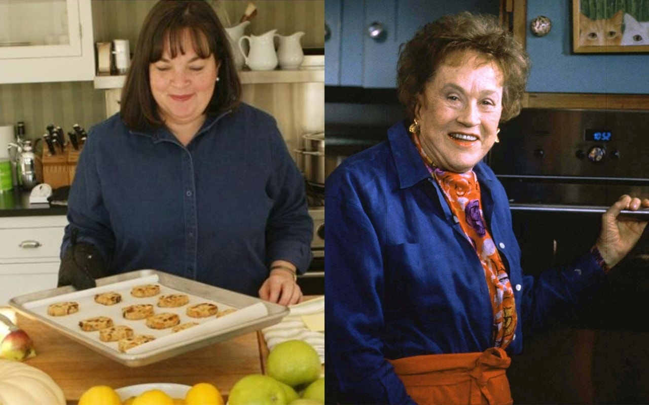 Ina Garten weighs in on Julia Child, Jacques Pepin chicken ...