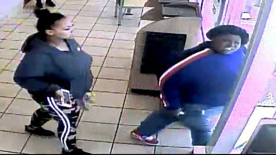 Police in Glendale, Wis., are seeking the public's help in identifying a McDonald's customer in a blue sweatshirt who pushed a 17-year-old employee to the ground.