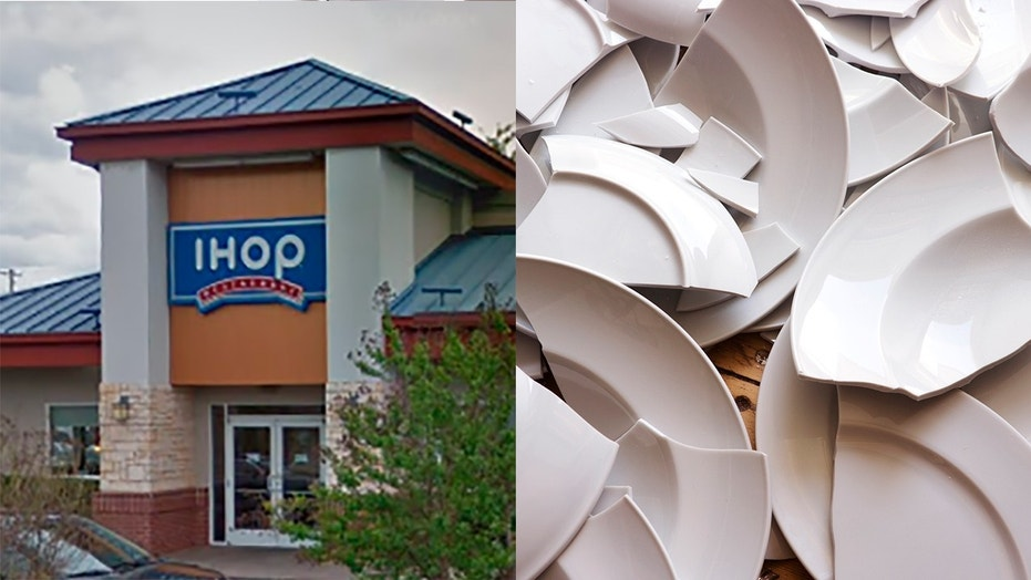 A group of women allegedly assaulted the IHOP manager after he asked them to leave for being loud and disruptive.