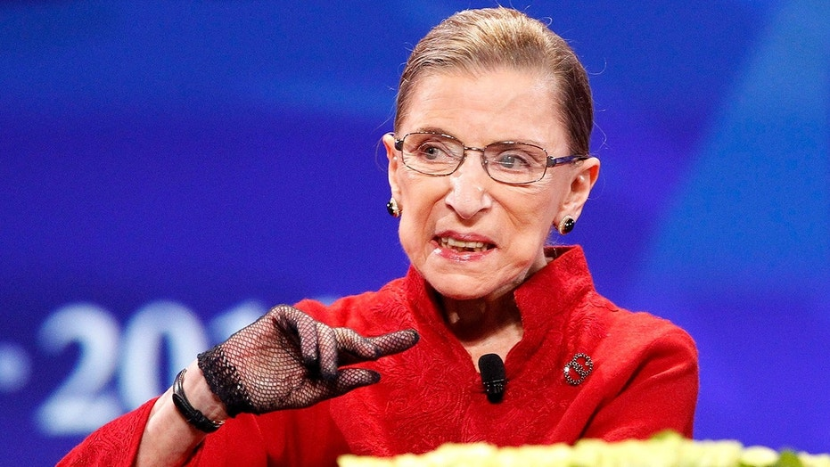 Ruth Bader Ginsburg: Scrunchies From Zurich the Best